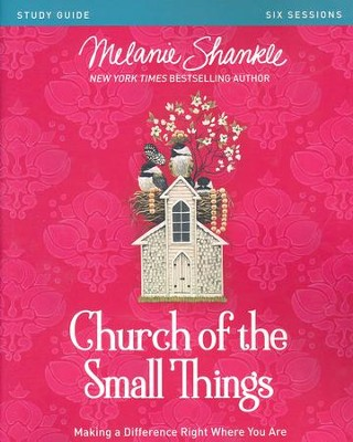 The Church of the Small Things, Participants Guide   -     By: Melanie Shankle