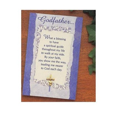 Godfather Pin and Card   -