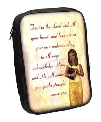 Proverbs 3:5-6 Bible Cover  -