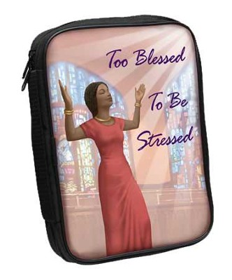 Too Blessed Bible Cover  -