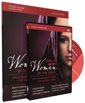 Twelve More Women of the Bible Study Guide with DVD  -     By: Sherry Harney, Karen Ehman