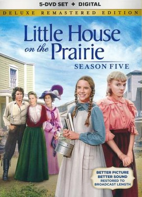 Little House on the Prairie: Season 5 - Deluxe Remastered Ed.,  5-DVD Set/Digital  -