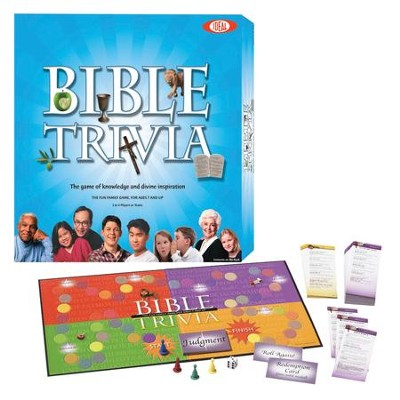 Bible Trivia, Board Game   -