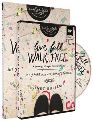 Live Full Walk Free Study Guide with DVD  -     By: Cindy Bultema