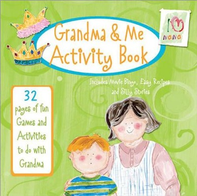 Grandma & Me Activity Book: 32 Pages of Fun Games and Activities to Do with Grandma  -     By: Marianne Richmond
