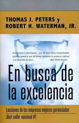 En busca de la excelencia in search of excellence tom peters en busca de la excelencia in search of excellence by tom peters publicscrutiny