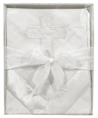 Cross Muslin Blanket  -