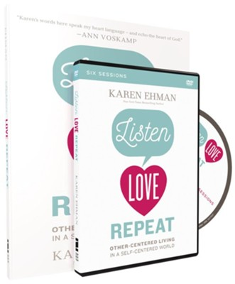 Listen, Love, Repeat DVD and Study Guide  -     By: Karen Ehman
