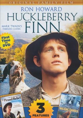 Huckleberry Finn Includes Walking Thunder/The Proud DVD   -