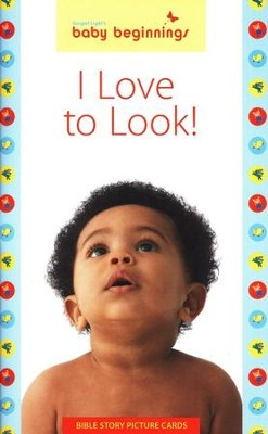 I Love to Look: 12 Bible Story Picture Cards   -