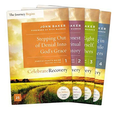 celebrate recovery updated participant s guide set volumes 1 4 rh christianbook com celebrate recovery participant's guide 1 celebrate recovery participants guide handout
