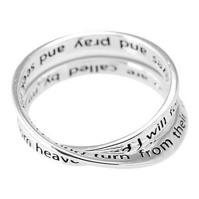 If My People, Mobius Ring, Size 8  -