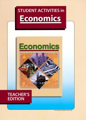 Heritage Studies 12: Economics, Student Activities Teacher's Edition  -