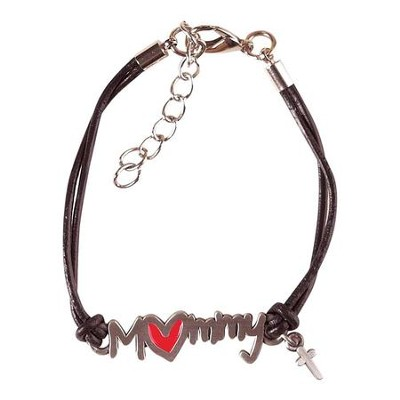 A Mommy's Heart, Hands That Play, Hands That Pray Bracelet  -