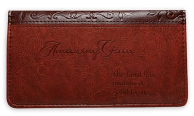 Checkbook Cover; Amazing Grace  -