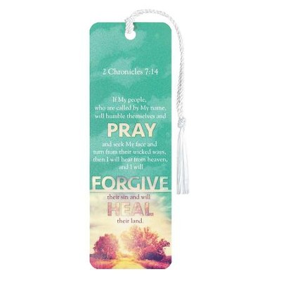 Pray Forgive Heal, Bookmark  -