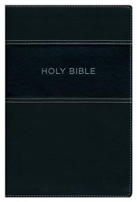 KJV Apply the Word Study Bible, Large Print, Imitation Leather, Black  -