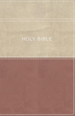 KJV Apply the Word Study Bible, Large Print, Imitation Leather, Pink/Cream, Indexed  -
