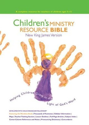 NKJV Children's Ministry Resource Bible, Hardcover  -
