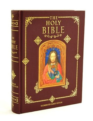 Holy Bible, Illuminated Family Edition   -