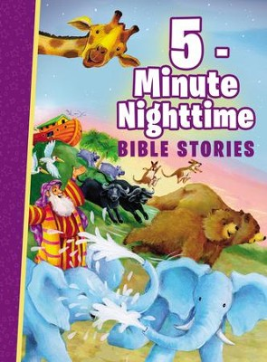 5-Minute Nighttime Bible Stories  -