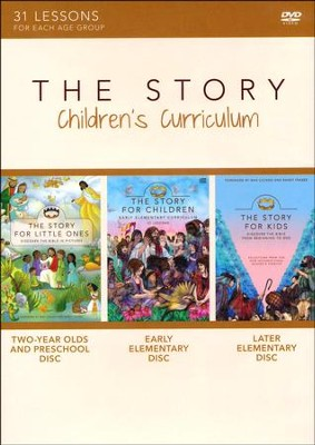 The Story Children's Curriculum: 31 Lessons     -