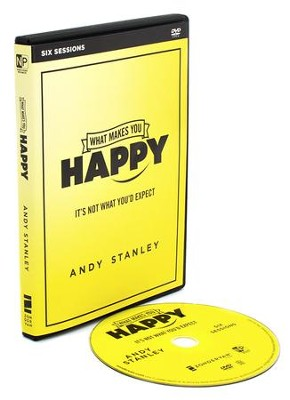 What Makes You Happy: A DVD Study  -     By: Andy Stanley