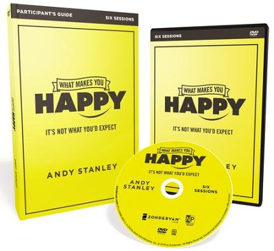What Makes You Happy, Participant's Guide with DVD  -     By: Andy Stanley