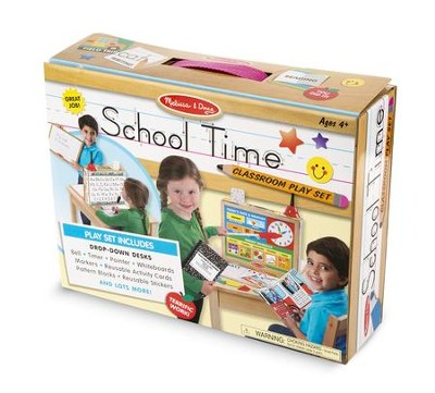 School Time! Classroom Playset   -