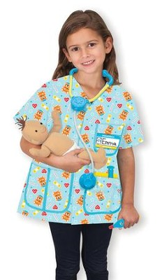 Pediatric Nurse Costume Play Set  -