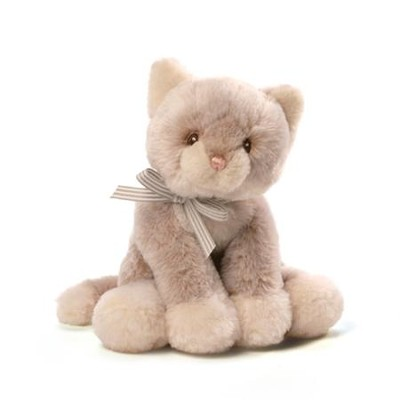 Oh So Soft Plush Kitty, Tan  -