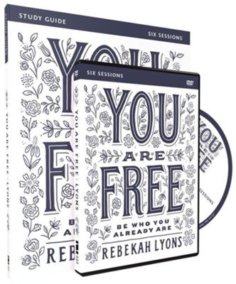 You Are Free Study Guide with DVD: Be Who You Already Are  -     By: Rebekah Lyons