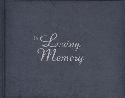 In Loving Memory Guest Book  -