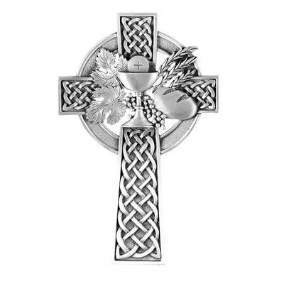Celtic Communion Wall Cross   -