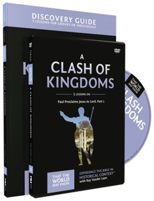 TTWMK Volume 15: A Clash of Kingdoms, Discovery Guide and DVD   -     By: Ray Vander Laan, Stephen Sorenson, Amanda Sorenson