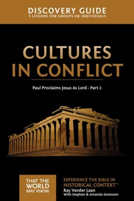 TTWMK Volume 16: Cultures in Conflict, Discovery Guide   -     By: Ray Vander Laan