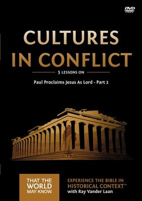 That the World May Know--Volume 16: Cultures in Conflict, DVD Study with Leader Booklet  -     By: Ray Vander Laan