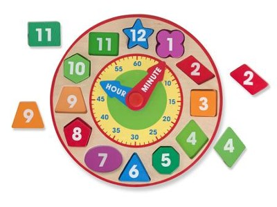 Shape Sorting Clock  -