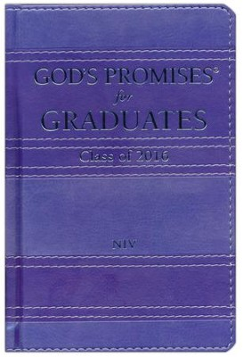 NIV God's Promises for Graduates: Class of 2016, Lavender  -     By: Jack Countryman