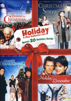 Home for Holidays 4 Film Collector's Set with Bonus 20 Holiday Song CD  -