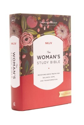 The NKJV Woman's Study Bible, Hardcover, Full Color   -