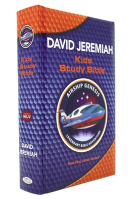NKJV, Airship Genesis Kids Study Bible, Hardcover  -     By: Dr. David Jeremiah