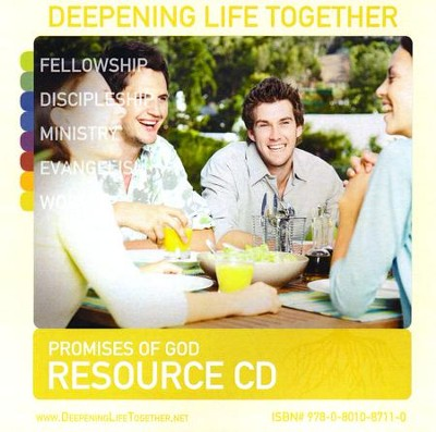 Deepening Life Together, Promises of God Resource CD-ROM   -