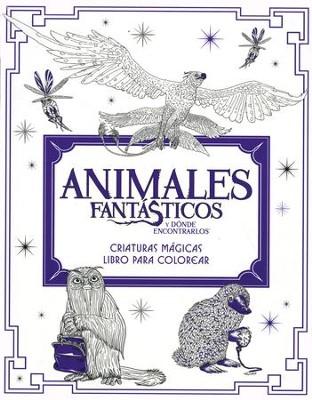 Animales Fantasticos y Donde Encontrarlos, Libro para Colorear ...