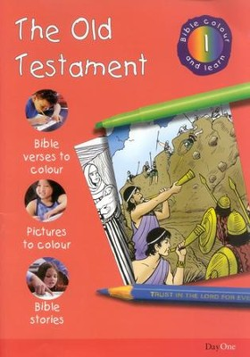 Bible Colour and Learn: 01 The Old Testament  -