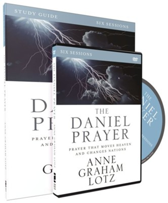 The Daniel Prayer Study Guide with DVD: Prayer That Moves Heaven and Changes Nations  -     By: Anne Graham Lotz