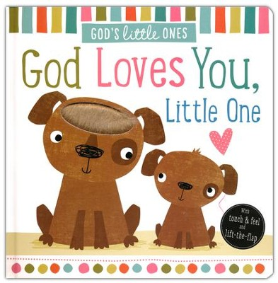 God's Little Ones: God Loves You Little One Boardbook   -