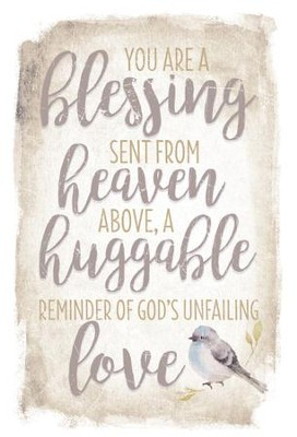 You Are A Blessing Sent From Heaven Plaque Christianbookcom