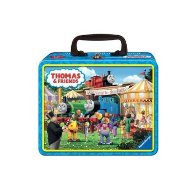 Thomas the Tank Fair Bound, 35 Piece Puzzle in Tin  -