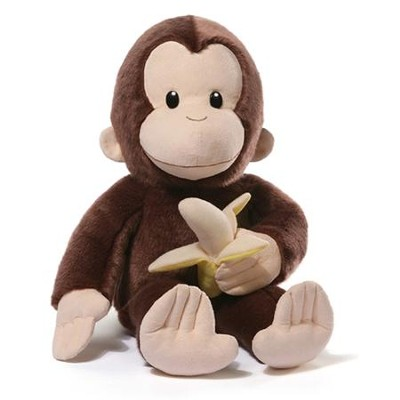 Plush Curious George With Banana, 75th Anniversary Edition  -